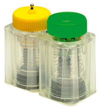 SPRING LOADER BEAD DISPENSER