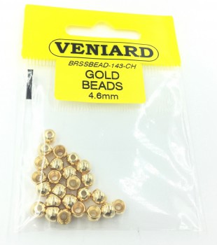 Brass BEADS PLATED